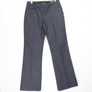 Express Editor Flare Pants sz 2 New Denim Trousers